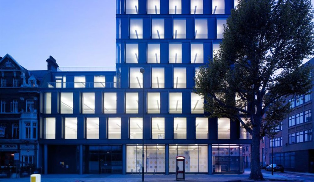1 Valentine Place shortlisted for RIBA Award 2014