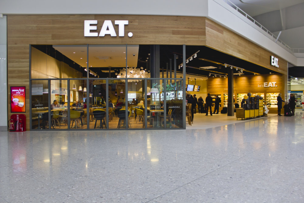 EAT Terminal 2 Shortlisted for Retail Week Interiors Awards 2014