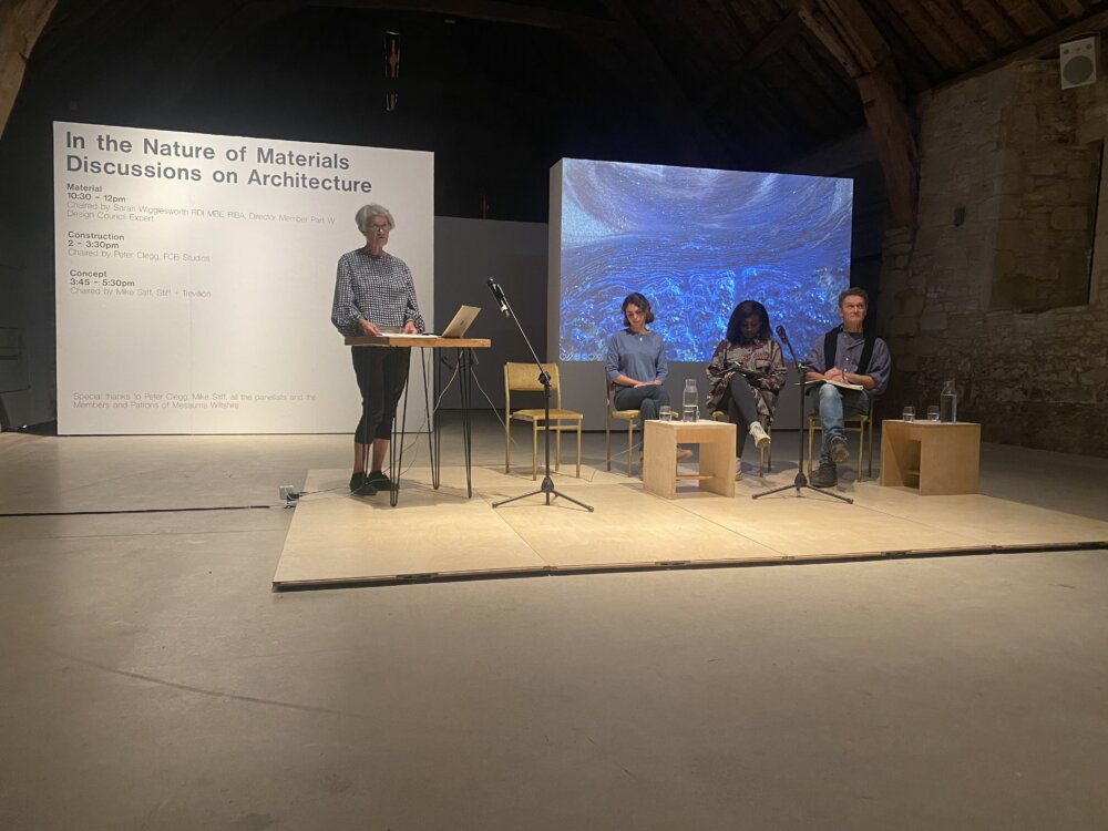 In the Nature of Materials – Discussions on Architecture, Messums Wiltshire September 2021