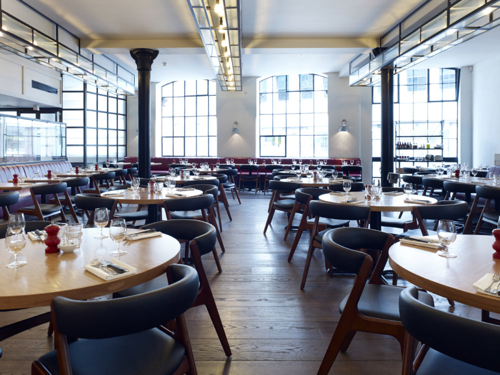 Hixter Bankside - S+T's second collaboration with Mark Hix